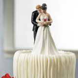 """""""Yes To The Rose"""" Bride And Groom Couple Figurine5"""
