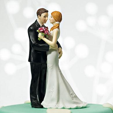 "Cheeky Couple Figurine ""My Main Squeeze"" - Light Skin Tone"