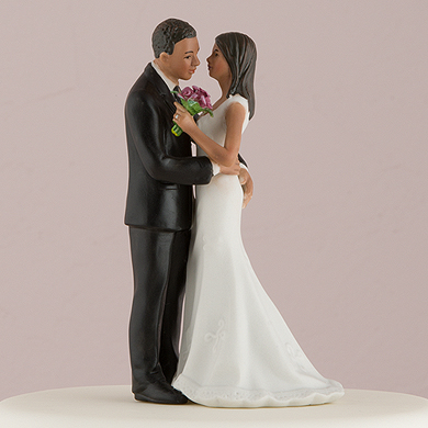 "Cheeky Couple Figurine ""My Main Squeeze"" - Medium Skin Tone"