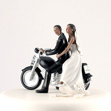 Motorcycle Get Away - Dark Skin Tone