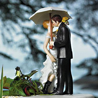 Showered With Love Couple Figurine