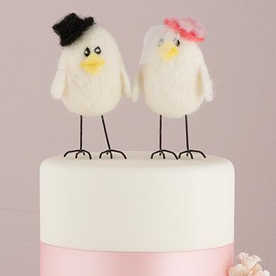 """""""Sweet Tweets"""" Bride And Groom"""