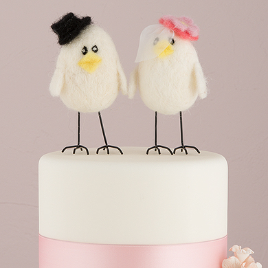 """Sweet Tweets"" Bride And Groom"