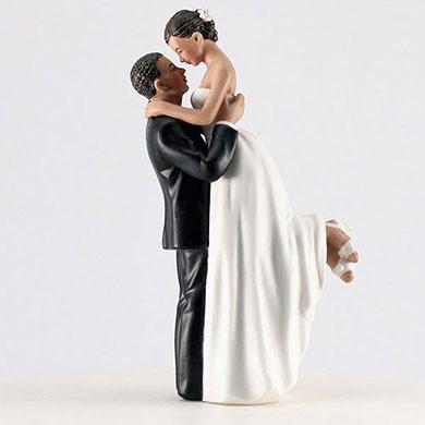 True Romance Couple Figurine - Medium Skin Tone