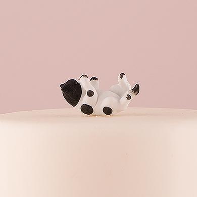 Cat Figurine - Black and White