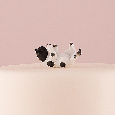 Cat Figurine - Black and White