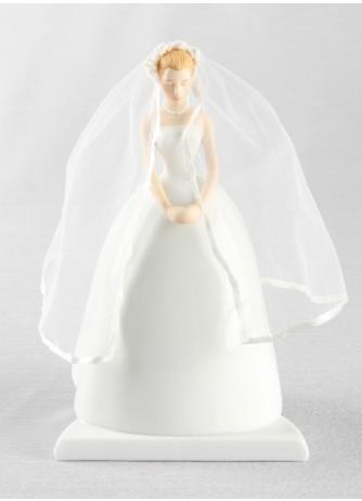 Blonde Bride Cake Top