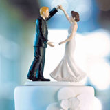 Dancing The Night Away Wedding Couple Figurine