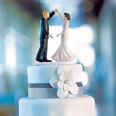 Dancing The Night Away Wedding Couple Figurine2