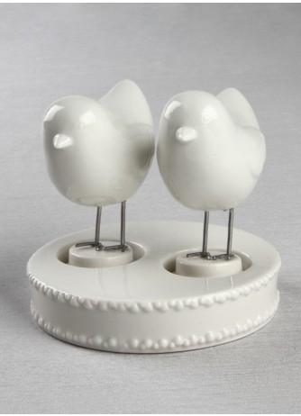 Love Bird Figurines and Base