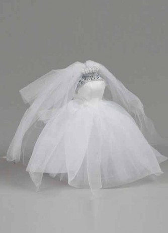 Small Organza Dress Form