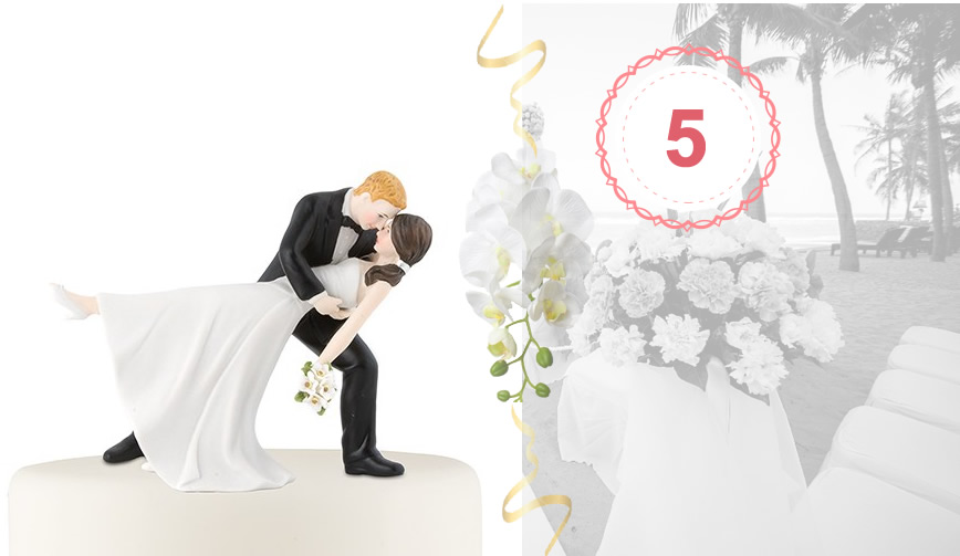 best wedding cake topper nr.5