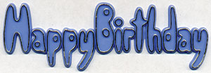Blue Birthday Script