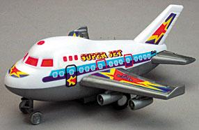 Pull Back Jet Plane