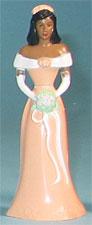 Bridesmaid Peach