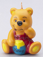 Honey Bear Candles
