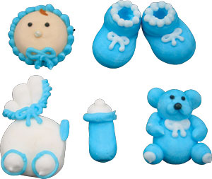Blue Baby Icing