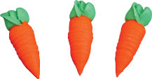 Textured Carrots