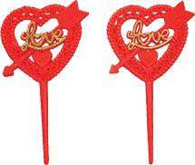 Love Heart Pick