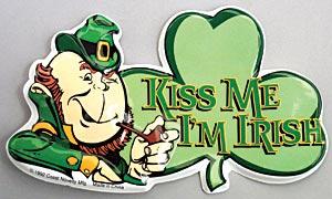Kiss Me I'm Irish Tops