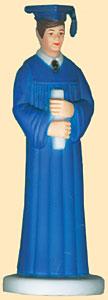 Boy Grad Blue Robe