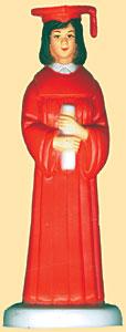 Boy Grad Red Robe