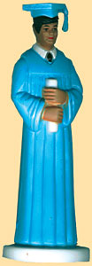 Ethnic Boy Grad Light Blue