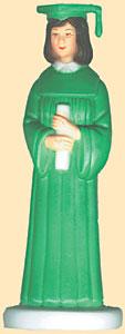 Girl Grad Green Robe