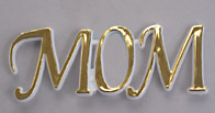 Gold Mom Plaque