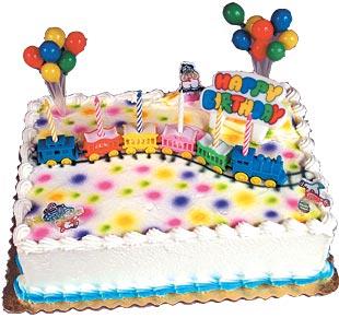 Circus Train Cake Kit
