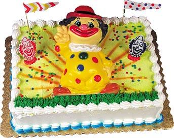 Circus Clown Cake Kit