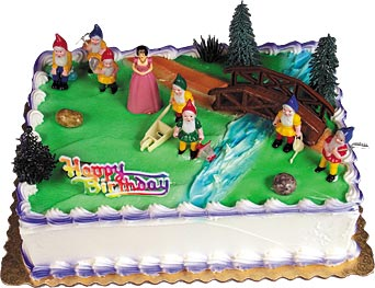 Snow White And 7 Dwarves Cake Kit