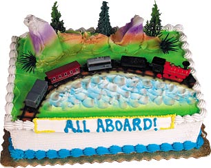 The Great Train Party Cake Kit