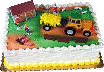 Farm E-I-E-I-Oh! Cake Kit