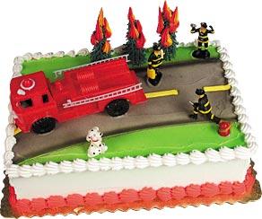 Fireman's Cake Kit