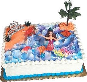 Mermaid Cake Kit