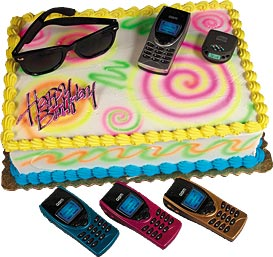 A Teens World Cake Kit