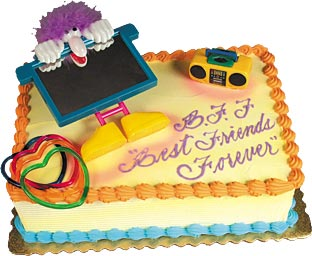 Best Friends Forever Cake Kit