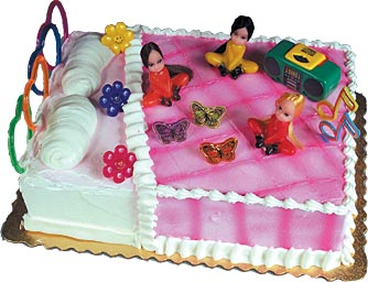 Slumber Party Cake Kit - JustCakeToppers.com