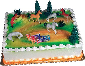 Untamed Spirit Horses Cake Kit
