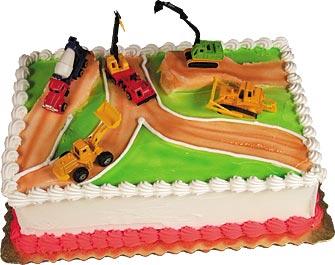 Construction Zone Cake Kit