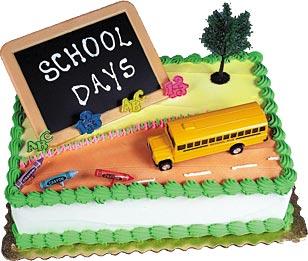 School Days Cake Kit