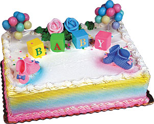 Baby Blocks Cake Kit