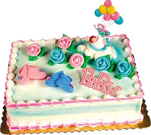 Baby Booties Cake Kit