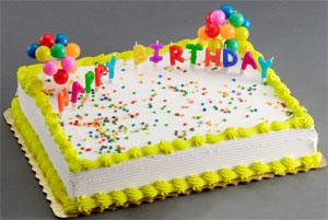Birthday Candles Cake Kit
