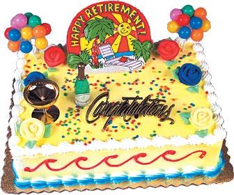 Happy Retirement Cake Kits