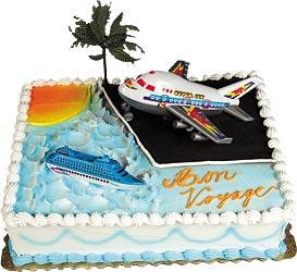 Bon Voyage Cake Kit