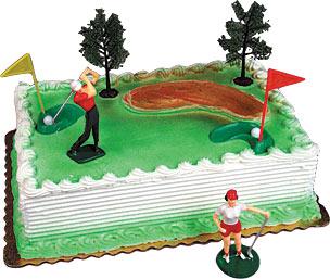 Golf Cake Kits