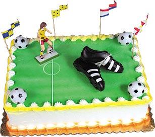 Soccer Star Cake Kit