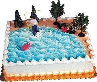 Gone Fishin' Cake Kit